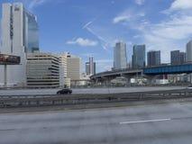 I stadens centrum Miami, USA Royaltyfria Bilder