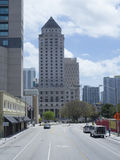 I stadens centrum Miami, USA Royaltyfri Bild