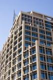 i stadens centrum modernt kontor för byggnad Royaltyfria Bilder