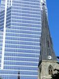 i stadens centrum montreal Royaltyfri Fotografi