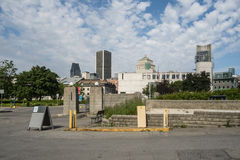 i stadens centrum montreal royaltyfri bild