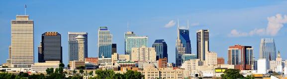 I stadens centrum Nashville Arkivbild