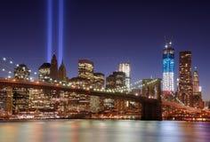 I stadens centrum New York City Royaltyfria Bilder