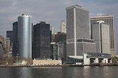 I stadens centrum NYC Arkivbild