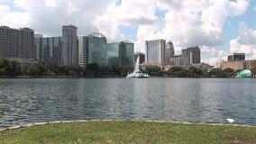 I stadens centrum Orlando i Florida stock video