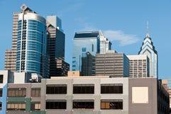 i stadens centrum philadelphia horisont Royaltyfri Foto