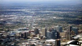 I stadens centrum Phoenix, Arizona Royaltyfria Foton