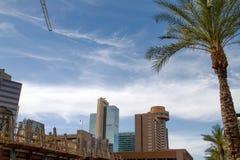 I stadens centrum Phoenix, Arizona, USA Arkivbilder