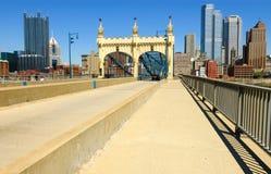 I stadens centrum Pittsburgh Royaltyfri Bild