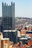 I stadens centrum Pittsburgh Arkivbilder