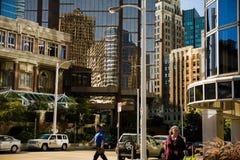 i stadens centrum plats Fotografering för Bildbyråer