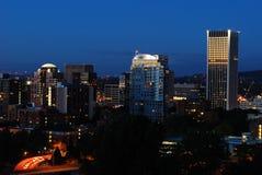 I stadens centrum Portland Fotografering för Bildbyråer