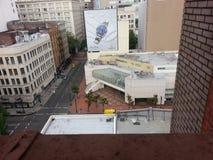 I stadens centrum Portland Arkivbild