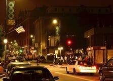 I stadens centrum portland Maine Arkivbild