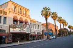 I stadens centrum Redlands i San Bernardino Royaltyfri Fotografi