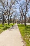 I stadens centrum Regina Arkivfoto