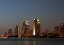 I stadens centrum San Diego Royaltyfri Fotografi