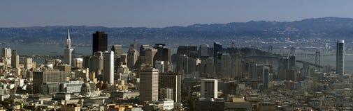 I stadens centrum San Fransisco Arkivbilder