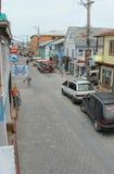 I stadens centrum San Pedro, San Ignacio, Belize Fotografering för Bildbyråer