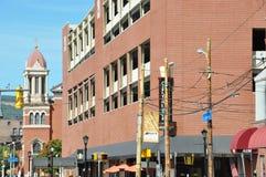 I stadens centrum Scranton, Pennsylvania royaltyfria foton