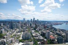 I stadens centrum Seattle Royaltyfria Foton