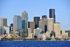 I stadens centrum Seattle Royaltyfri Bild
