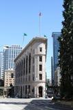 i stadens centrum seattle för byggnad tider royaltyfria foton