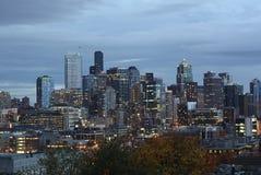 I stadens centrum Seattle, södra sjö union Royaltyfria Bilder