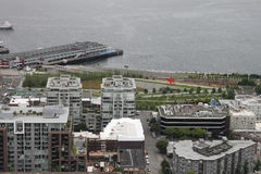 I stadens centrum Seattle Washington Park Royaltyfri Foto