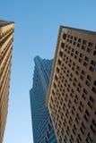 i stadens centrum sf för byggnader fotografering för bildbyråer