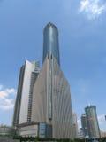 i stadens centrum shanghai Royaltyfri Fotografi