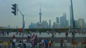 I stadens centrum shanghai Royaltyfri Foto
