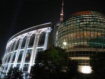 i stadens centrum shanghai Fotografering för Bildbyråer