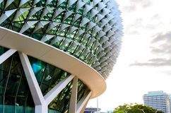 I stadens centrum Singapore Arkivfoto