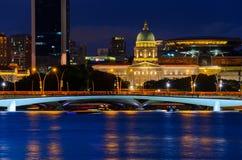 I stadens centrum Singapore Royaltyfria Bilder
