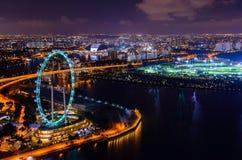 I stadens centrum Singapore Royaltyfria Foton