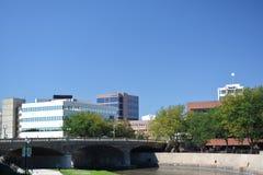 I stadens centrum Sioux Falls South Dakota Royaltyfri Bild