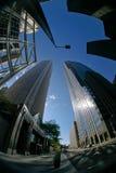 i stadens centrum skyskrapa 3 Royaltyfria Bilder