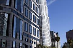 I stadens centrum stad av Los Angeles byggnader Arkivfoton