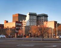 I stadens centrum Syracuse Arkivbilder