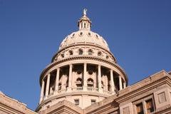 i stadens centrum tillstånd texas för austin byggnadscapitol Royaltyfri Fotografi