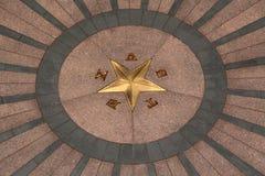 i stadens centrum tillstånd texas för austin byggnadscapitol Royaltyfri Bild
