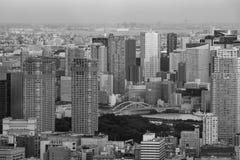 I stadens centrum Tokyo, Japan Arkivfoto