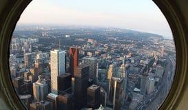 I stadens centrum Toronto Royaltyfria Foton
