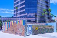 i stadens centrum tucson Fotografering för Bildbyråer