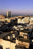 i stadens centrum tunis arkivbild