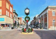 I stadens centrum udde Girardeau, Missouri, royaltyfri bild