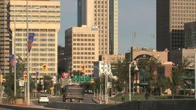 I stadens centrum Winnipeg, Kanada stock video