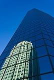 I stadens centrum Winston-Salem Buildings Arkivfoto