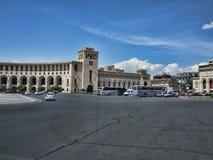 I stadens centrum Yerevan, Armenien Fotografering för Bildbyråer